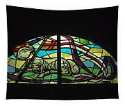 Lamb Stained Glass Window Tapestry