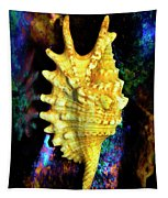 Lambis Digitata Seashell Tapestry