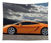 Lamborghini Exotic Car Tapestry