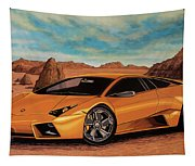 Lamborghini Reventon 2007 Painting Tapestry