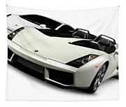 Lamborghini Super Cars Tapestry
