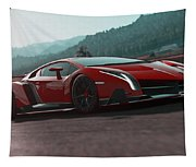 Lamborghini Veneno Tapestry