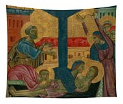 Lamentation Of The Dead Christ Tapestry