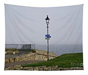 Lamppost Near The Sea. Tapestry