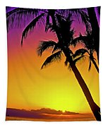 Lanai Sunset II Maui Hawaii Tapestry