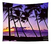 Lanai Sunset Tapestry