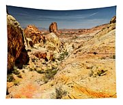 Land Of Sandstones Valley Of Fire Tapestry