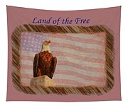 Land Of The Free Tapestry