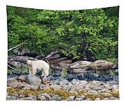 Land Of The Spirit Bear Tapestry
