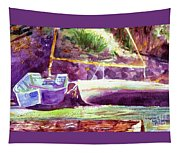 Landed Boats Tapestry