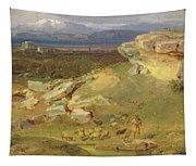 Landscape Near Corinth Tapestry