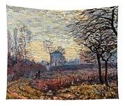 Landscape Near Louveciennes Tapestry