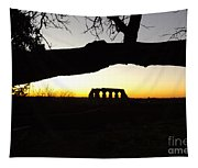 Landscape Roman Campagna Italy Tapestry
