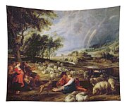 Landscape With A Rainbow Tapestry