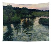 Landscape With A River Tapestry