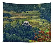 Landscape With Castle Tapestry