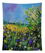 Landscape With Cornflowers 459060 Tapestry