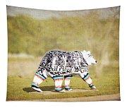 Language Bear Tapestry