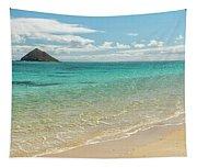 Lanikai Beach 4 Pano - Oahu Hawaii Tapestry