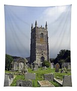 Lansallos Church Cornwall Tapestry