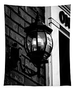 Lantern Black And White Tapestry