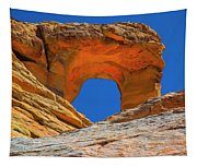 Large Sandstone Arch Valley Of Fire Tapestry