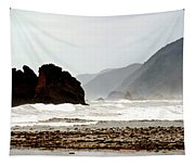 Large Waves Along The New Zealand Coast Tapestry