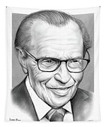 Larry King Tapestry