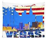 Las Vegas Nevada Skyline Tapestry