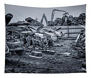 Last Journey - Salvage Yard Tapestry