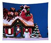 Last Stop For Santa Tapestry