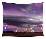 Late July Storm Chasing 086 Tapestry