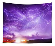 Late July Storm Chasing 089 Tapestry