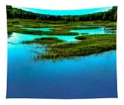 Late May On The Moose River Tapestry