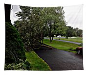 Late Morning Storm Tapestry
