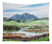 Late Winter In California Tapestry