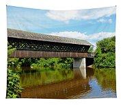 Lattice Covered Bridge Tapestry