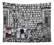 Laundry Line - Dubrovnik Croatia #3 Tapestry