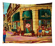Laura Secord Candy And Cone Shop Tapestry