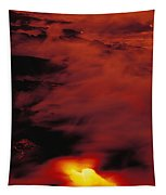Lava At Dawn Tapestry