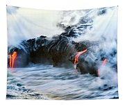 Lava Flow Tapestry