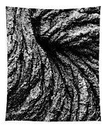Lava Patterns - Bw Tapestry
