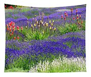 Lavender And Flowers Oh My Tapestry