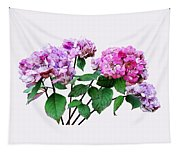 Lavender And Rose Hydrangeas Tapestry