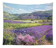 Lavender Fields In Old Provence Tapestry