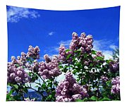 Lavender Lilacs Tapestry