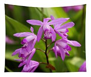 Lavender Orchid Tapestry
