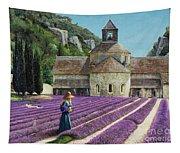 Lavender Picker - Abbaye Senanque - Provence Tapestry