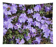 Lavender Rhododendrons Tapestry