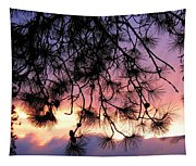 Lavender Sunset Tapestry